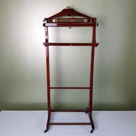 valet de chambre en acajou et laiton fratelli reguitti. Black Bedroom Furniture Sets. Home Design Ideas