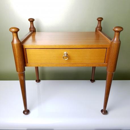 Table de chevet vintage Gautier