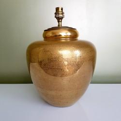 Pied de Lambour verre doré Lancel Italie