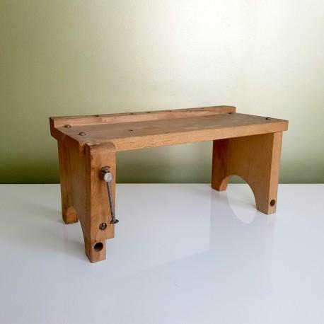 Mini établi en bois Jouet d'enfant vintage