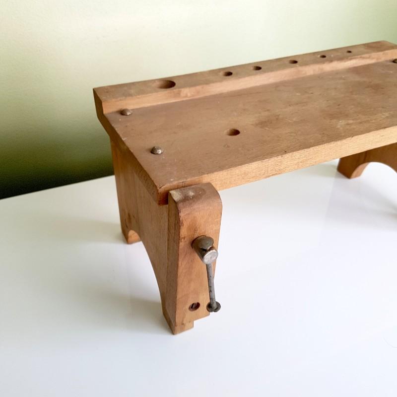 mini tabli en bois jouet d 39 enfant vintage. Black Bedroom Furniture Sets. Home Design Ideas