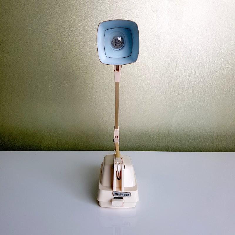 lampe articul e japonaise cr me et or vintage le havre vintage. Black Bedroom Furniture Sets. Home Design Ideas