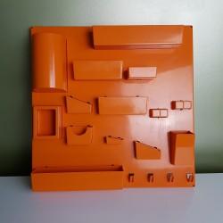 Panneau de rangement mural plastique orange DLG Becker Maurer