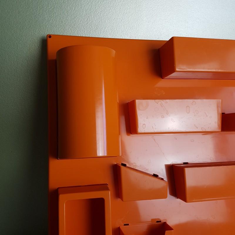 panneau de rangement mural plastique orange dlg becker maurer. Black Bedroom Furniture Sets. Home Design Ideas
