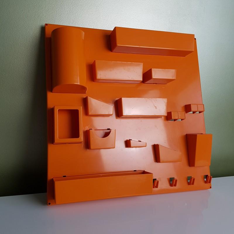 Panneau de rangement mural plastique orange dlg becker maurer - Cadre photo plastique mural ...