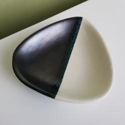 Cendrier vide poche céramique Luc Vallauris 50s 60s vintage