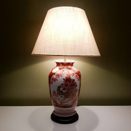 Eclairer lampes de table pied de lampe en porcelaine japonaise - Decoration pied de sapin ...