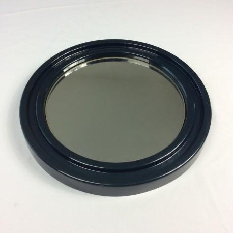 Miroir plastique bleu