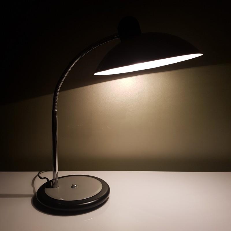 grande lampe de bureau vintage aluminor made in france. Black Bedroom Furniture Sets. Home Design Ideas