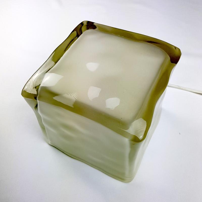 lampe cube verre fa on gla on ikea. Black Bedroom Furniture Sets. Home Design Ideas