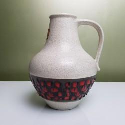 Vase allemand DB Keramik Dumler Breiden Mid Century Fat Lava Era West German