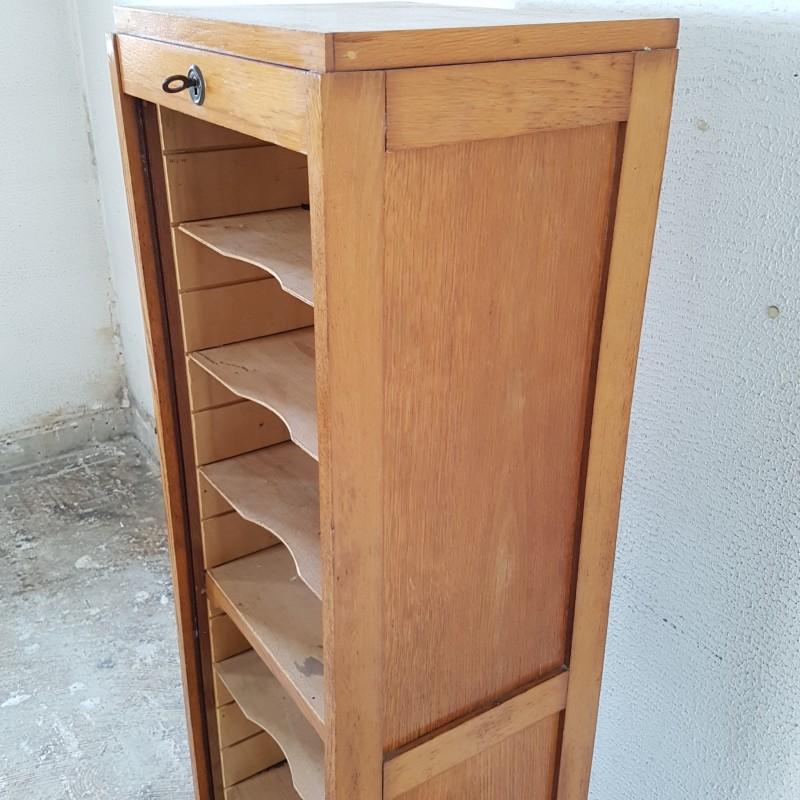 meuble classeur a rideau. Black Bedroom Furniture Sets. Home Design Ideas