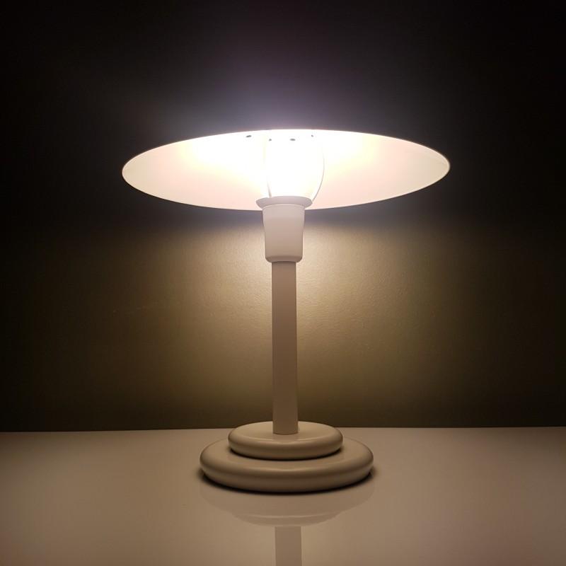 lampe champignon blanche vintage aluminor. Black Bedroom Furniture Sets. Home Design Ideas