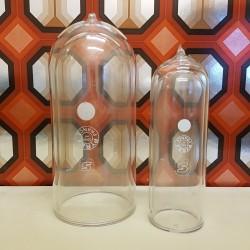 Lot de cloches globes Laboratoire Verre Pyrex double enveloppe