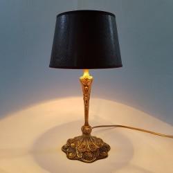 Lampe en bronze style époque Art Nouveau Jugenstil DLG Leleu