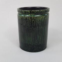Petit Vase en céramique poterie d'Accolay Yonne France