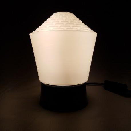 Lampe a poser Philips Poligny Bakelite noire