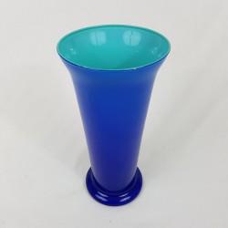 Grand vase en opaline 2 couleurs