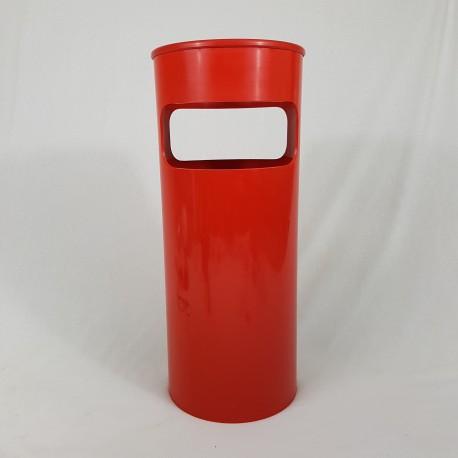 Porte parapluie Kartell plastique rouge