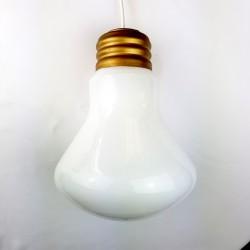 Lustre Forme ampoule géante Vintage