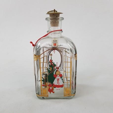 Flacon bouteille danoise danemark juleflask HOLME GAARD 1990