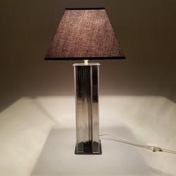 Lampe en altuglass et inox
