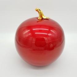 Pomme rouge Seau à glaçons aluminium vintage Luxium France