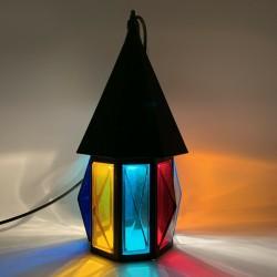 Lanterne de porche hall multicolore (Peter Marsh Nader ?)
