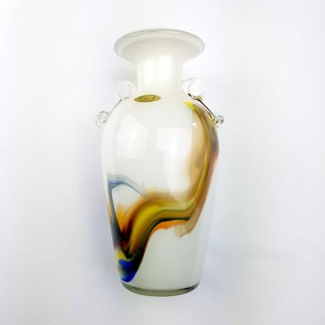 Petit vase à oreilles style Murano