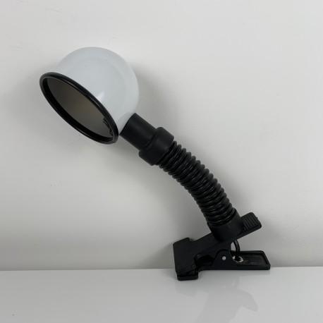 lampe de bureau design vintage avec pince (Guzzini ? )