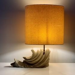 Lampe vintage en pierre calcaire dans le style de Tormos