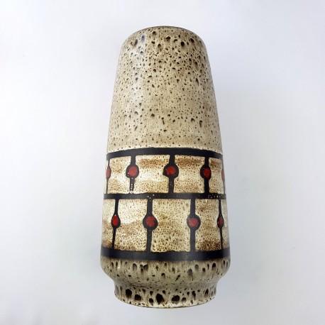 Vase Jasba céramique allemande Fat Lava Era