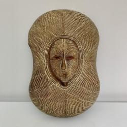 Masque bouclier Songye Congo
