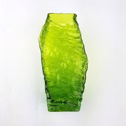 Vase vert  texturé DLG Whitefriars