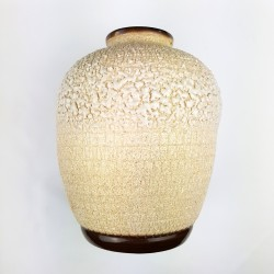 Vase boule en grès émaillé façon écaille  attribué a Louis Dage époque Art Déco